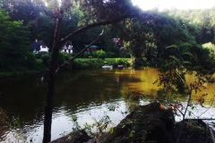 Kánoe na řece