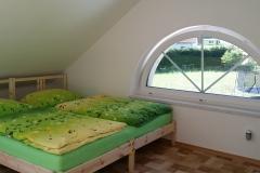 Ložnice v podkroví - Apartmán1