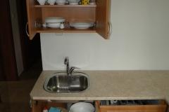 Vybavená kuchyňka - Apartmán1