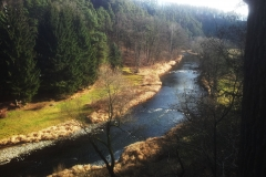 Řeka Malše u nás