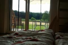 Jen u nás můžete pozorovat přírodu přímo z postele
