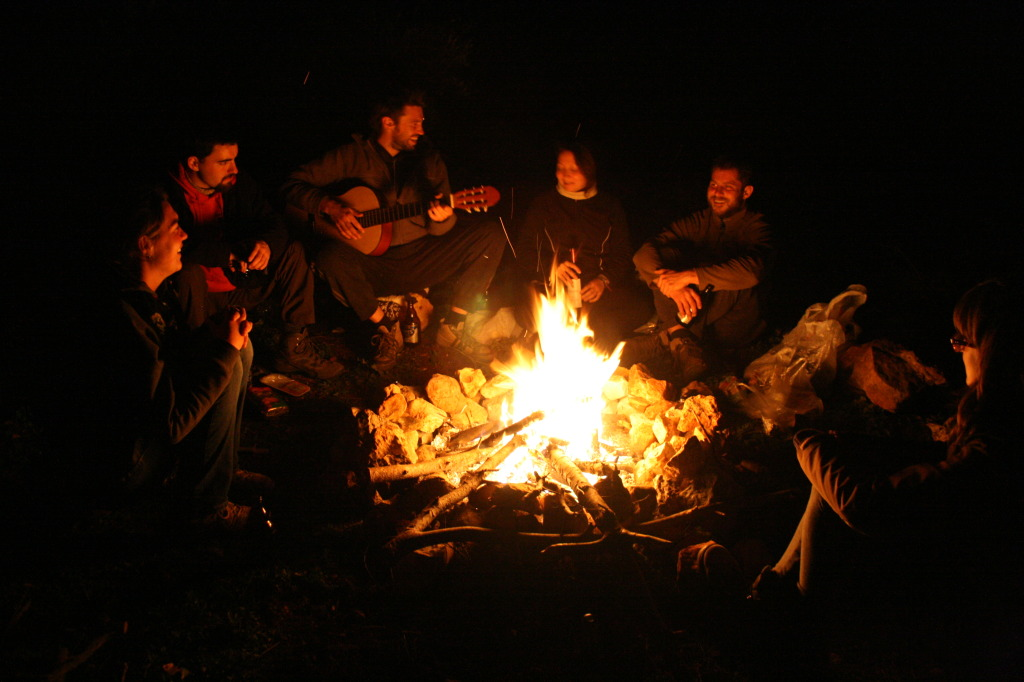 Večer u táboráku 1